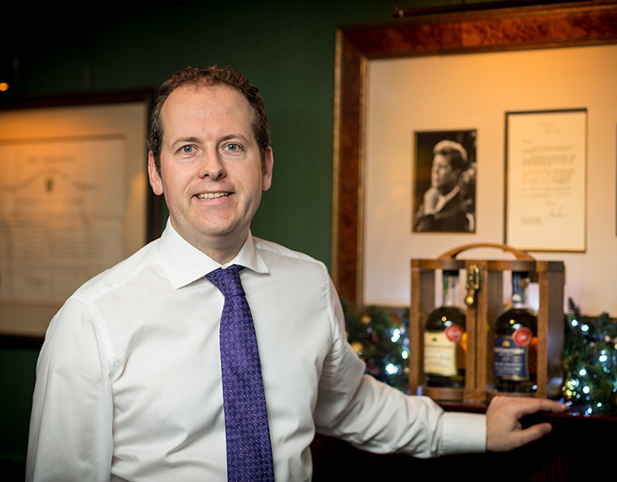 Derek Byrne, Bar Manager Shanahan's on The Green