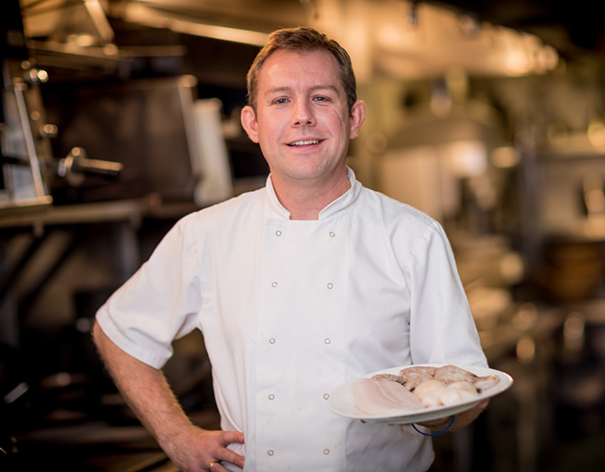 Piotr Fraszcyzk, Sous Chef at Shanahan's on The Green