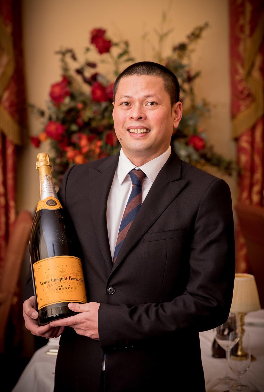 Charles Estrada, Sommelier & Assistant Restaurant Manager