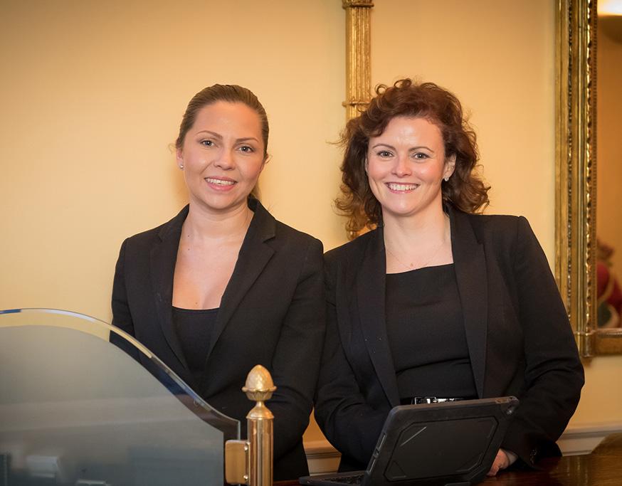 Susana Guerrero & Amanda Mitchell, Reservations Shanahan's on The Green